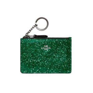 Coach The Wizard of Oz Glitter Mini Skinny ID Case